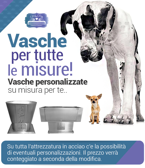 Vasche personalizzate Macpets