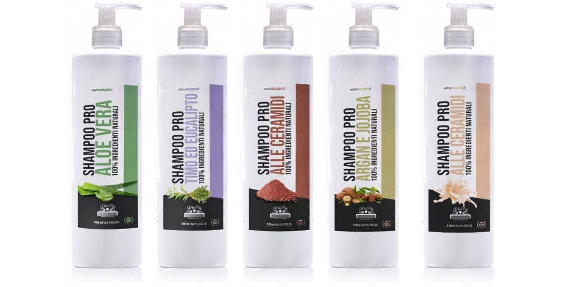 shampoo per cani naturale bio vegan macpets